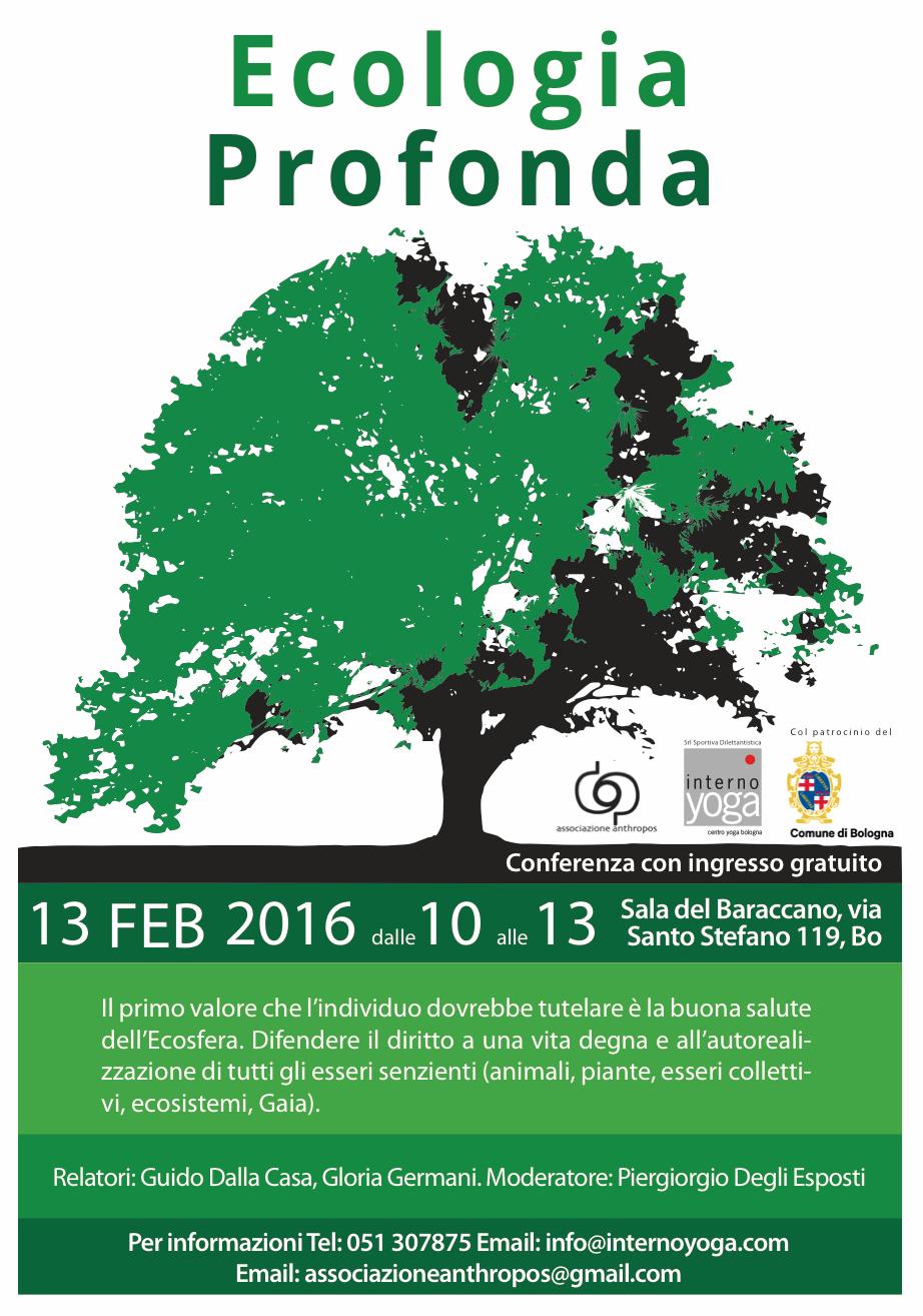 Ecologia Profonda Conferenza Interno Yoga