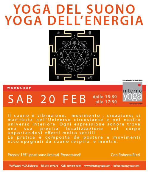 Internoyoga, Yoga Del Suono, Yoga Dell' Energia