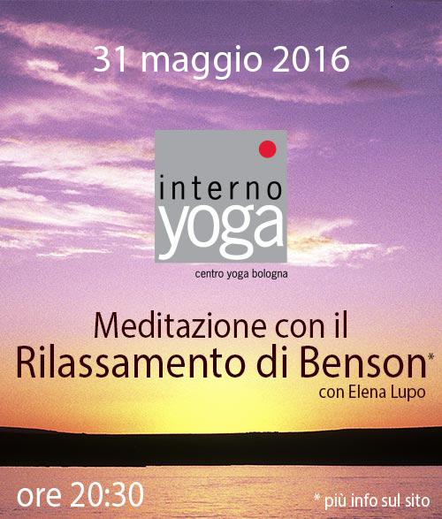 Meditazione Benson 2