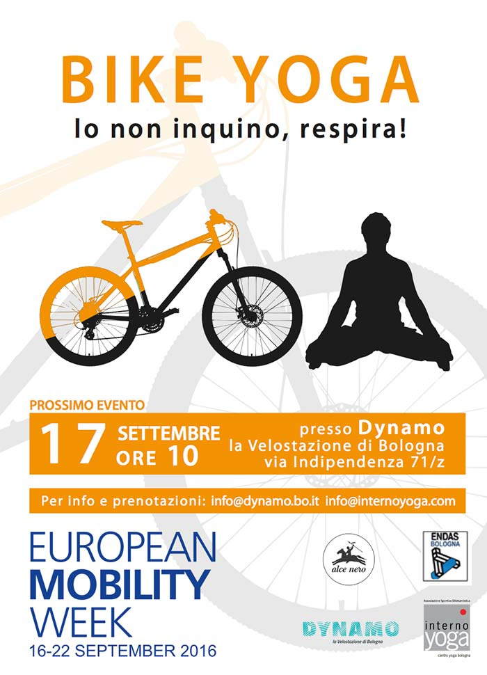 bike yoga autunno