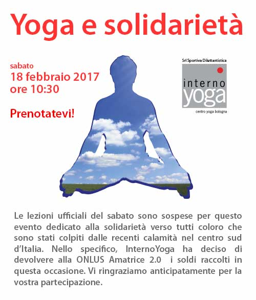yoga e solidarietà