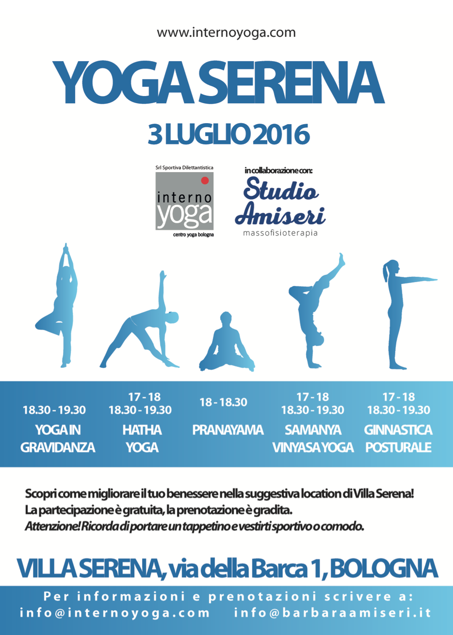 Yoga Serena internoyoga studio amiseri