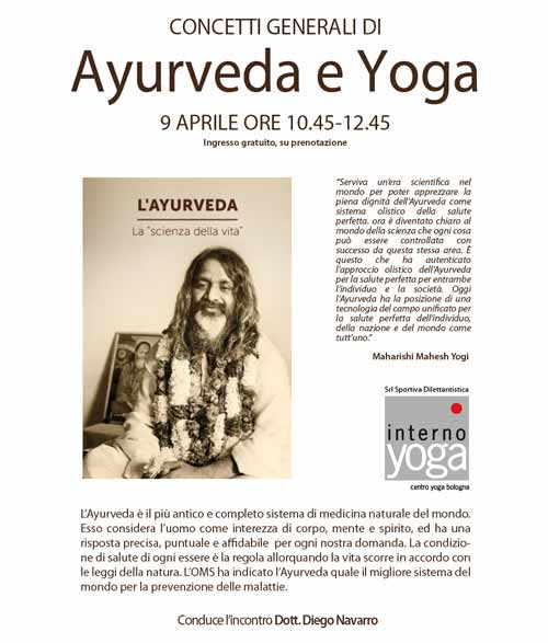 ayurveda e yoga